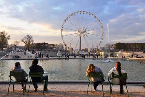 チュイルリー庭園 Jardin des Tuileries
