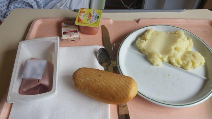 病院のお昼ご飯