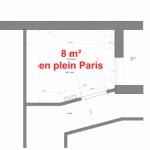 パリの8m2のアパートが素敵♪