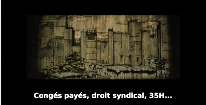 進撃の巨人の壁は、築き上げた労働法