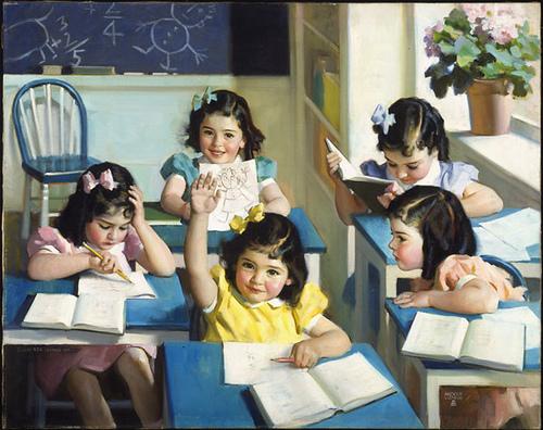 Dionne Quintuplets - School Days / Quintuplées Dionne - Journées à l'école