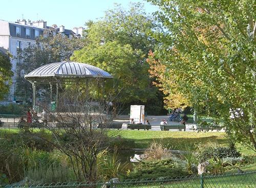 タンプル小公園 Square du Temple