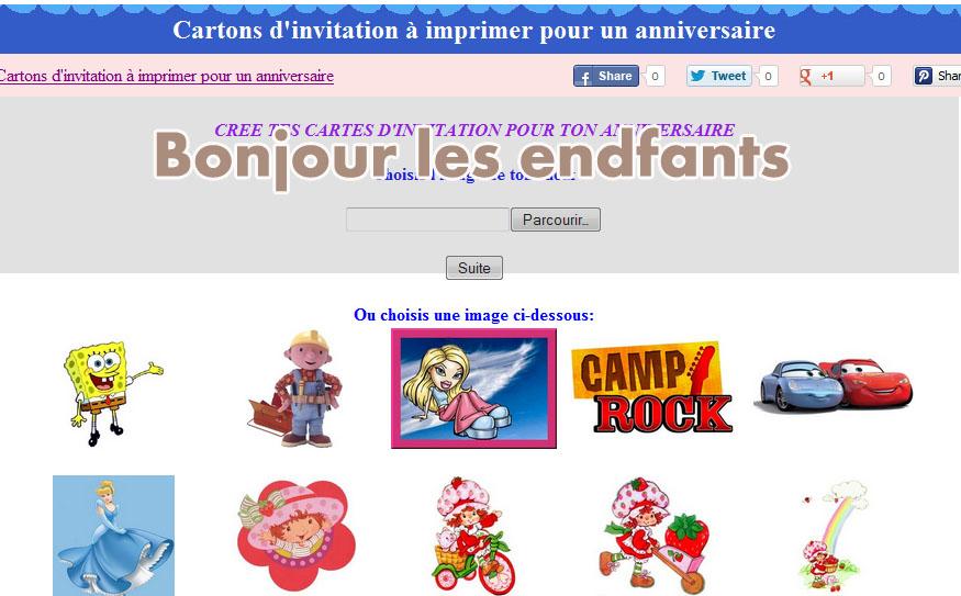 誕生日カード フランス語