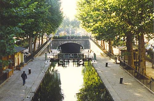 サンマルタン運河Canal Saint-Martin