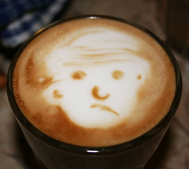 coffee art photo:  CoffeeArt-NotHappy.jpg