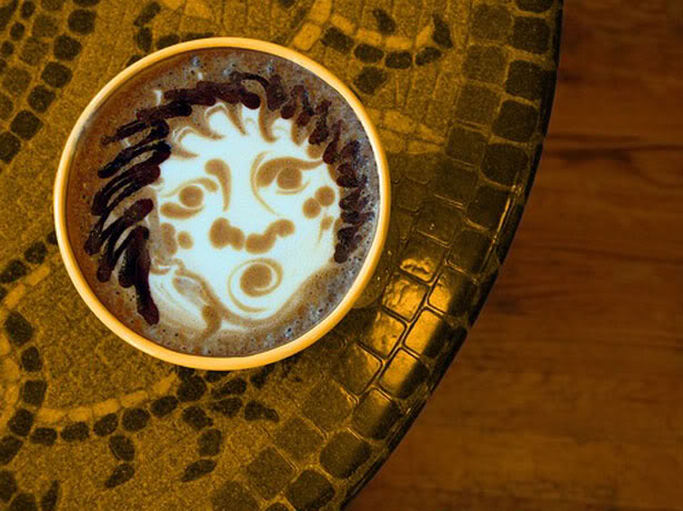 coffee art photo:  CoffeeArt-OldLady.jpg