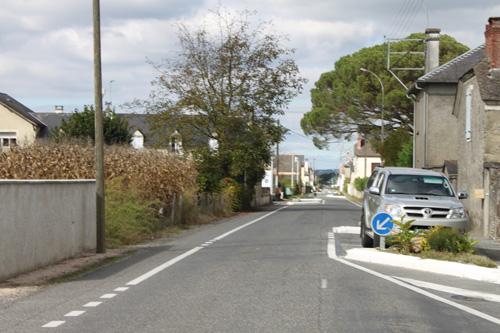 フランスの道路