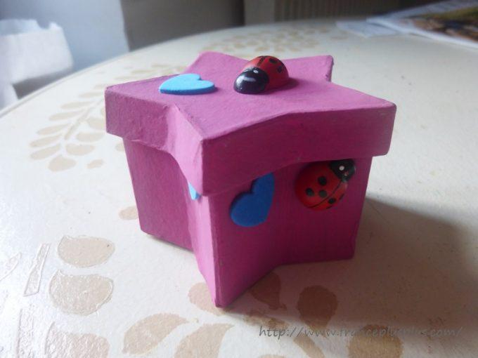 病院で作った小箱