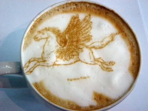 coffee art photo: Pegasus* Pegasus.jpg