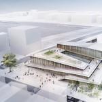 オリンピックの新国立競技場の設計者、隈研吾さんのフランスの「サンドニ・プレイエル駅」
