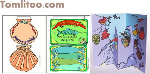 誕生日カード フランス語う 恐竜