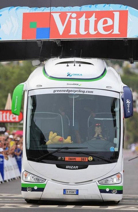 ツール・ド・フランス2013 第1ステージはのコルシカは大波乱