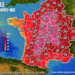 記録的な猛暑に襲われているフランスだよ~~