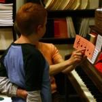 フランスのある小学校の音楽の授業