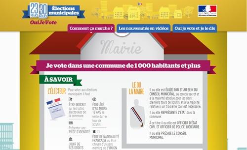 フランスの市長選
