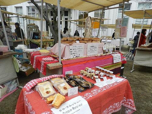日仏マルシェ市場