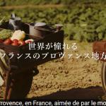 もうフランスに行かなくていい?プロヴァンスが日本に存在する?!