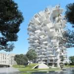 フランス・モンペリエに建設予定の日本人設計による建物がすごい!