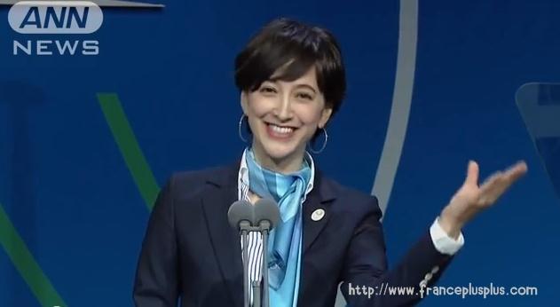 滝川クリステル オリンピックスピーチ