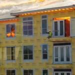 【動画】テキサスで火事!建物に取り残された作業員の救出映像!